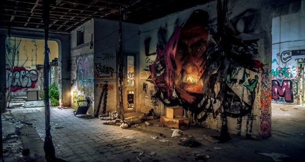 ATHENS STREET ART BY GEORGE SPYRIDAKOS