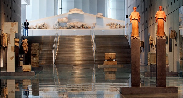 THE ACROPOLIS MUSEUM IN ATHENS III