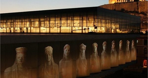 THE ACROPOLIS MUSEUM IN ATHENS I